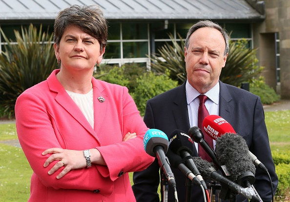Government is 'paralysed' without support of the DUP, says Andrew Bridgen MP