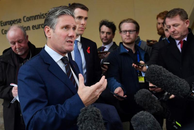 Labour's Keir Starmer sets out plans to block no deal Brexit