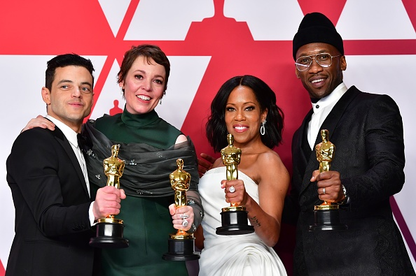 Rami Malek, Olivia Coleman, Mahershala Ali and Regina King