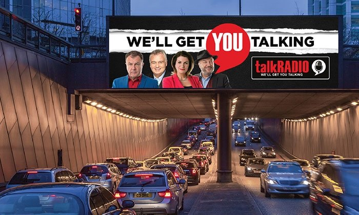 talkRADIO rolls out adaptive media campaign to support station launch