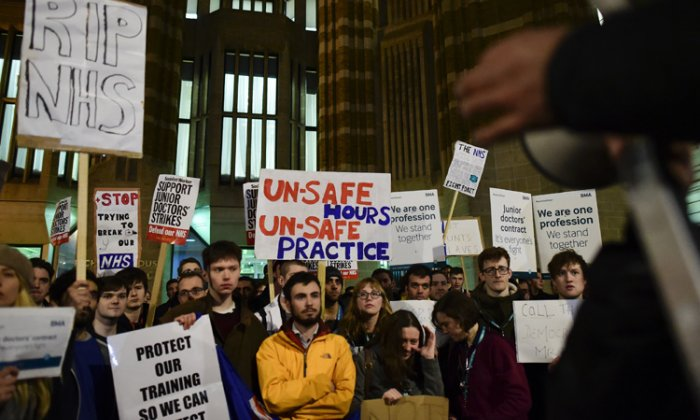 Junior Doctors' Strike: Proposed new contract will turn recruitment and retention into an 'absolute disaster'