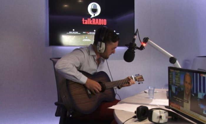 Is This Love? It's time for another busker session with Jon Holmes