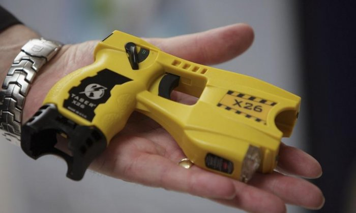 """Police chief Steve White has called for tasers to be rolled out across UK police forces because they've proven to be """"incredibly effective"""" at keeping people safe"""