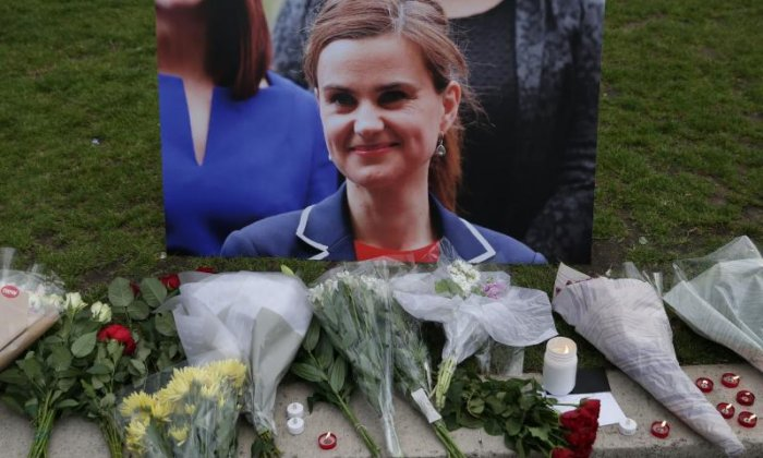 "Jo Cox: ""I really hope all of those haters will pause and reflect on this tonight,"" says Stephen Kinnock MP"