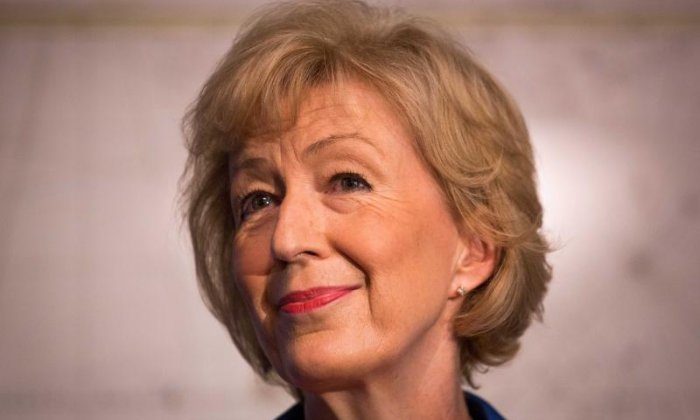 Reports claim Andrea Leadsom is stepping down from Conservative leadership race
