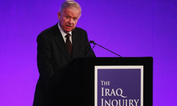 Chilcot: 'This isn't a sixth form common room, this is the real business of running the country', says historian