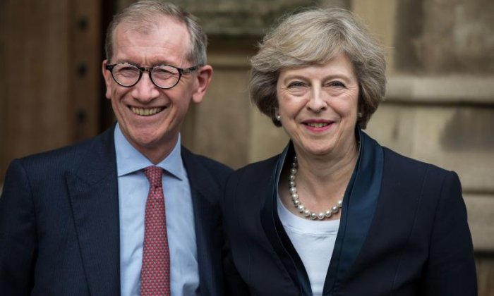 'I don't see Philip May being threatened at all by this', says relationship advisor Pam Spurr