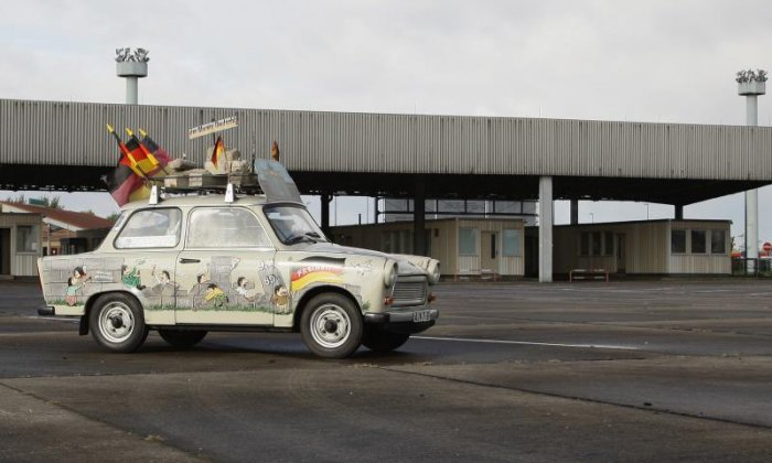 A long drive to freedom in Germany – April 1990