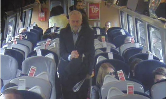 Virgin Trains Corbyn image