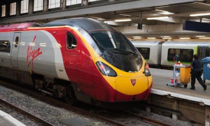 Jon Holmes confronts Susan from Virgin Radio about Virgin Trains problems