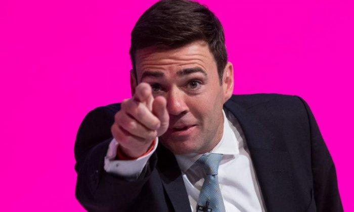 """Award-winning TV and radio presenter Terry Christian has savaged Labour's decision to put Andy Burnham forward as the party's candidate to be mayor of Manchester, describing the MP for Leigh as """"beige"""", """"an invertebrate"""" and """"lacking in conviction and passion"""" for the city"""
