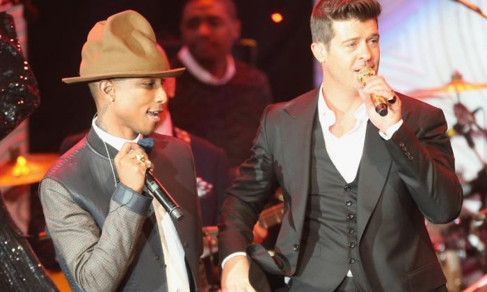 ​Robin Thicke and Pharrell Williams