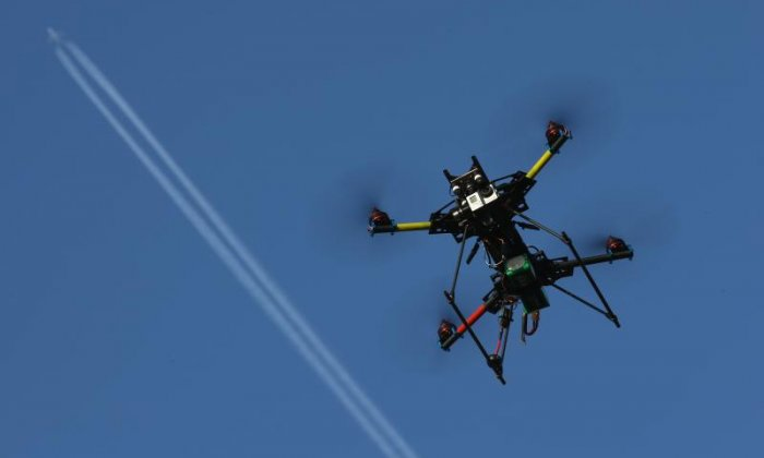 A new drone will be trialled next year to track terrorists