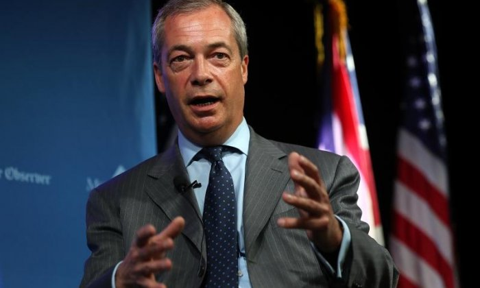 Nigel Farage vows to return to frontline politics IF Theresa May doesn't deliver Brexit