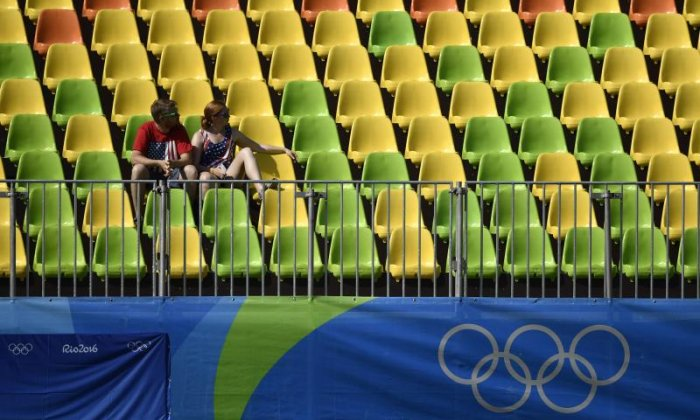 The likes of Adam Peaty and Jazz Carlin may have brought home medals for Team GB over the weekend, but one Brazil-based journalist says that the rows of empty seats at the stadiums may end up being the defininig image of the Rio 2016 Olympic Games