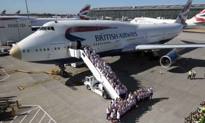 'victoRIOus' aircraft brings Team GB athletes home