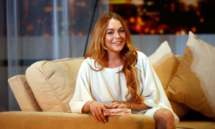 "Lindsay Lohan - ""WHY is everyone in SUCH a panic about hurricane (i'm calling it Sally)..? Stop projecting negativity! Think positive and pray for peace."""