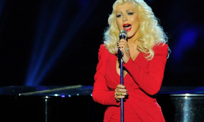 "Christina Aguilera - ""So, where's the Cannes Film Festival being held this year?"""