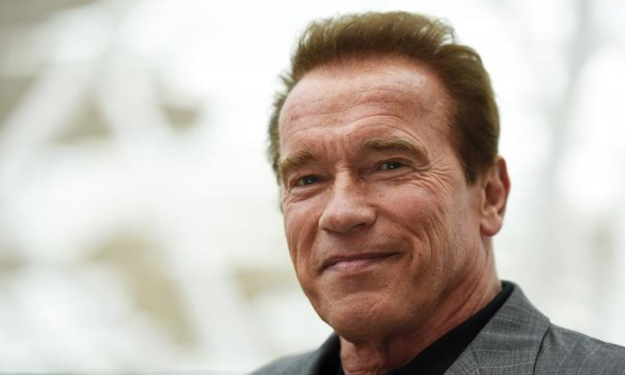 "Arnold Schwarzenegger - ""I think gay marriage is something that should be between a man and a woman."""