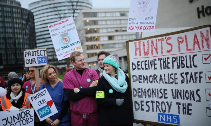 Junior Doctors strikes: 'This is all about Jeremy Hunt being able to say people should vote Conservative', says junior doctor