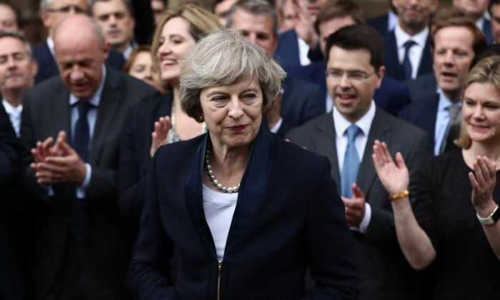 Theresa May has made a 'terrible error' in choosing cabinet members to negotiate Brexit