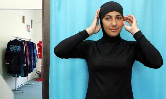 Women chased off a beach in France for wearing a burkini