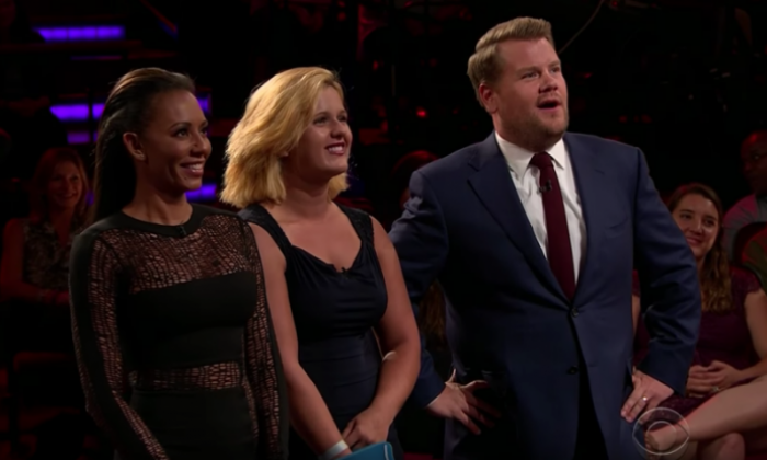 James Corden and Mel B - Late Late Live Tinder hilarity