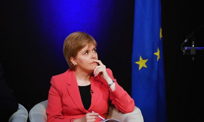 Nicola Sturgeon has been criticised for launching her campaign on the back of Brexit