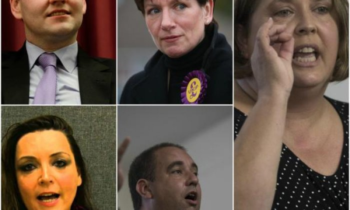 Ukip leadership election, the candidates: Meet the wrestling lover, the burqa banner and the bloke who thinks Hitler was 'magnetic'