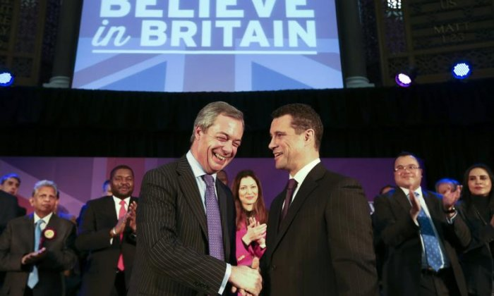 Ukip brawl: Steven Woolfe 'offers hand of friendship' to Mike Hookem, says colleague Nathan Gill