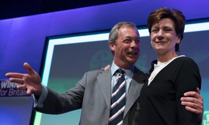 Diane James resignation: 'The chances of Nigel Farage coming back are nil', says Ukip's Peter Whittle