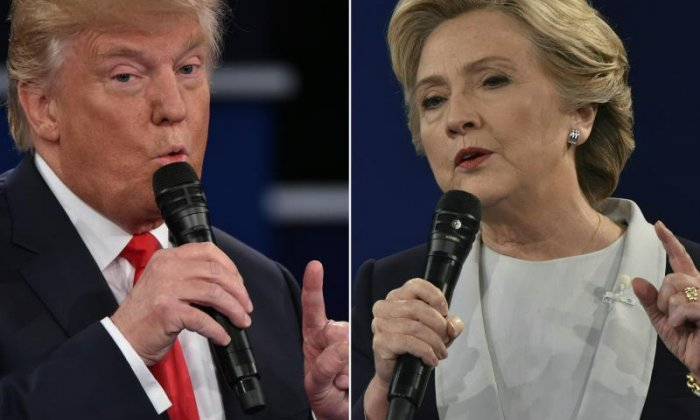 Second US presidential debate: Donald Trump claims Hillary Clinton should be in jail