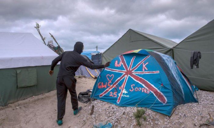 Children from the Calais Jungle camps are set to arrive in the UK