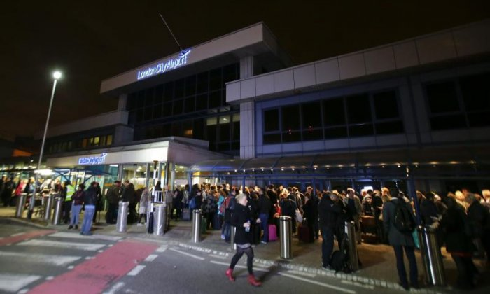 Man arrested in connection with evacuation at London City Airport under anti-terror legislation