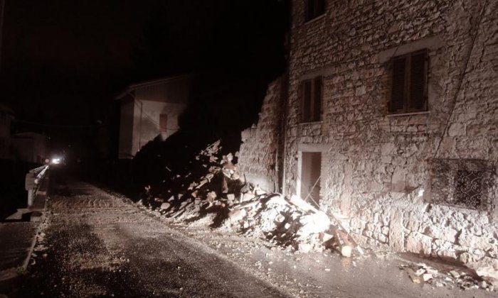 Central Italy devastated after being rocked beneath two powerful earthquakes