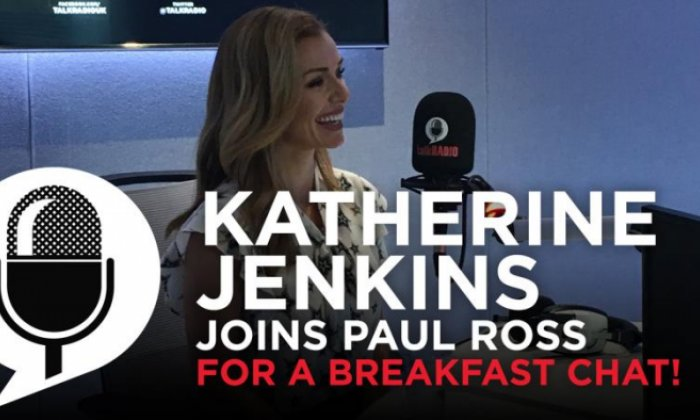 Katherine Jenkins on her Christmas Celebration tour and Dancing With The Stars