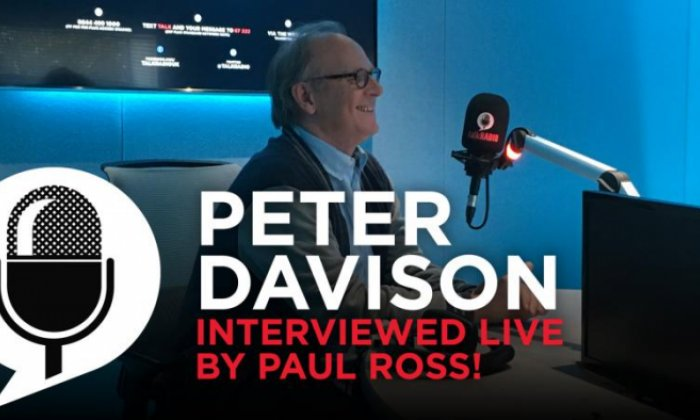 Actor Peter Davison on his career and how he nearly became a tax inspector
