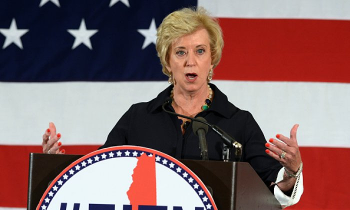 Former WWE CEO Linda McMahon is considered for Donald Trump's secretary of commerce