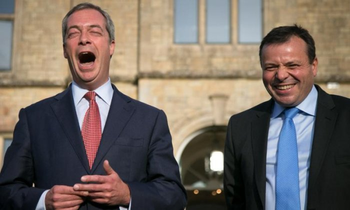 UKIP donor Arron Banks: 'Nigel Farage could return at some point' for good