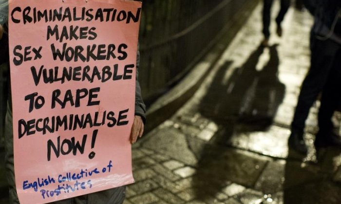 UK sex workers 'want decriminalisation for safety', says English Collective of Prostitutes spokesperson