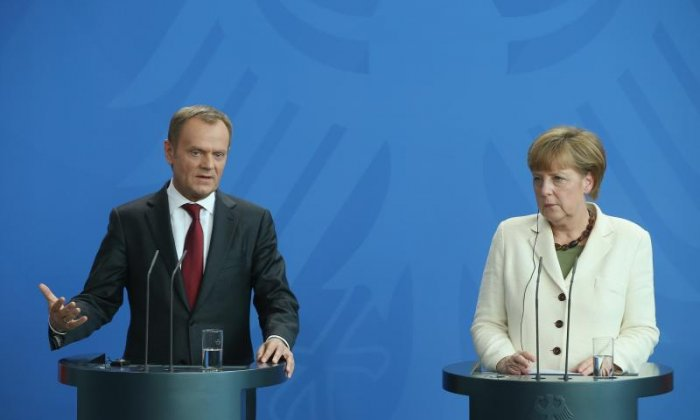 Angela Merkel and Donald Tusk's 'saber-rattling' only adds to EU uncertainty, says news editor
