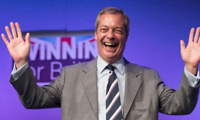 Nigel Farage will scale new heights of smugness