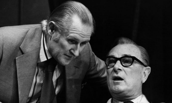 Peter Vaughan: 'He was the man you had to watch because he was so good', says Christopher Biggins