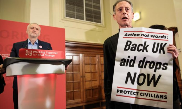 Peter Tatchell on why he interrupted Jeremy Corbyn and the issues in Syria
