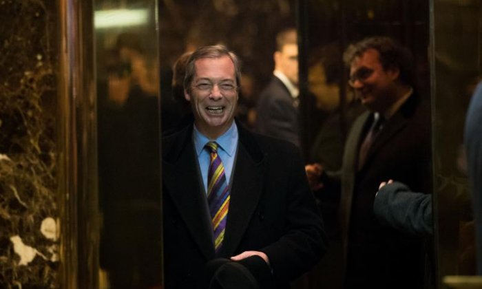 'Donald Trump wants to talk to the UK, but the government won't talk to me about our meetings', says Nigel Farage