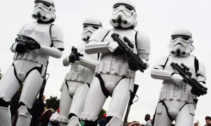 WATCH Police force use a Stormtrooper in their new recruitment video