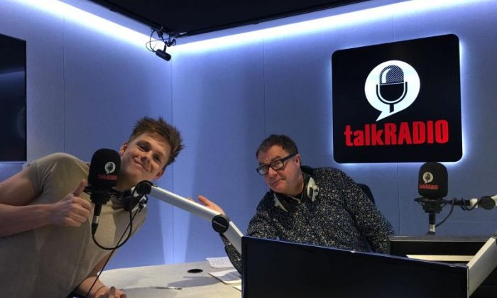 Caspar Lee on his special rendition of 'Deck The Halls' and his YouTube career