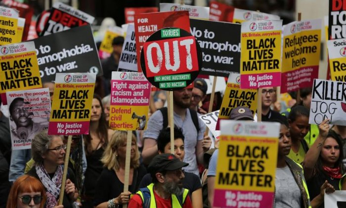 Simon Jenkins believes his situation is akin to that of a black person 20 years ago