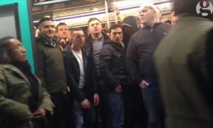 The incident happened before Chelsea's match with Paris Saint Germain in the Champions League