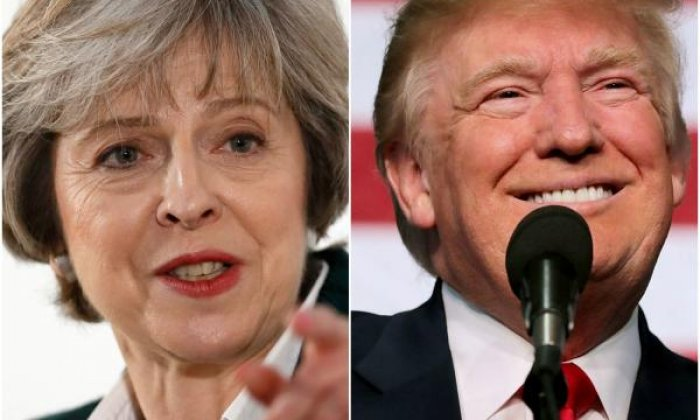 Theresa May and Donald Trump to discuss slashing tariffs on US-UK trade